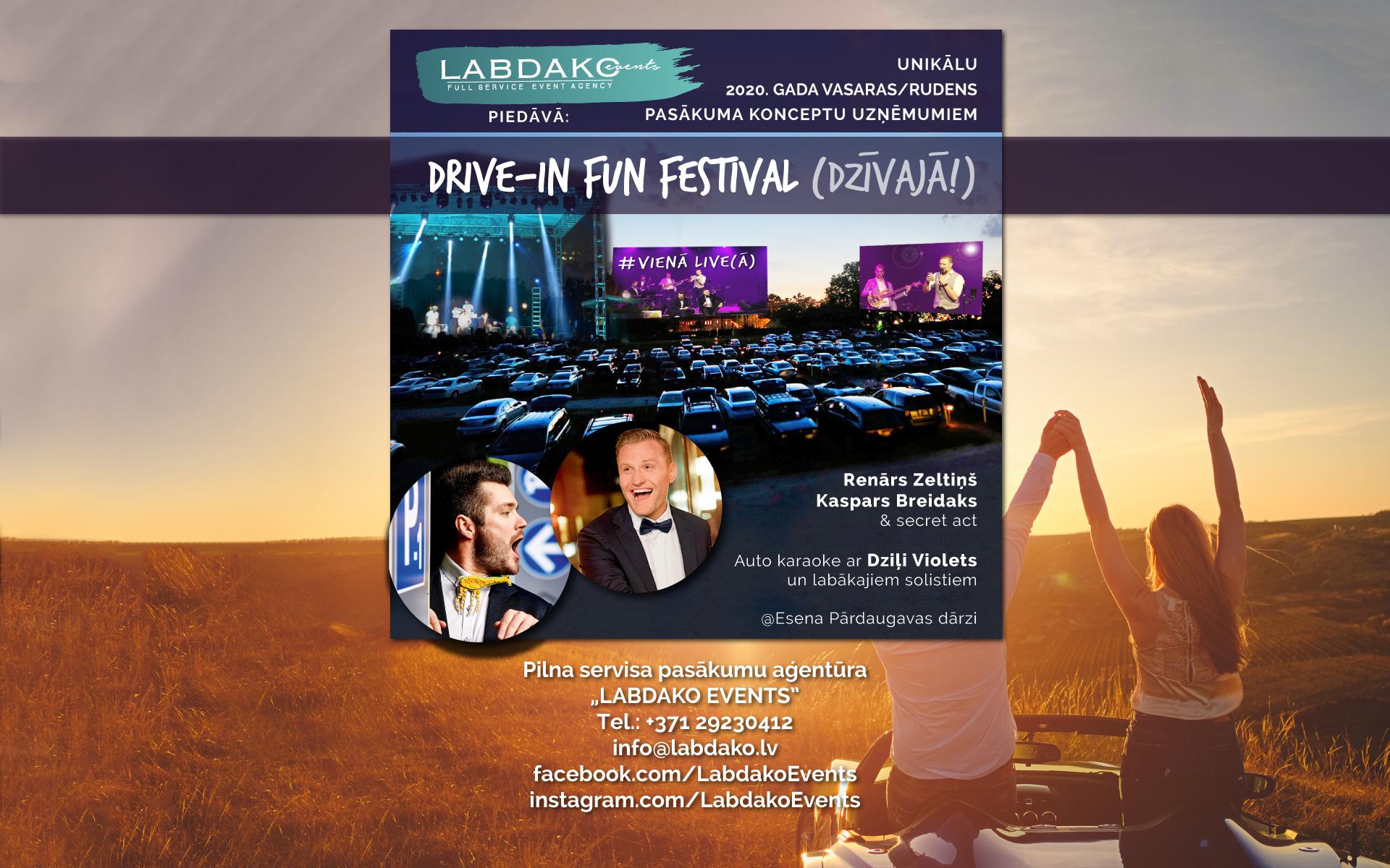 Labdako Events Facebook